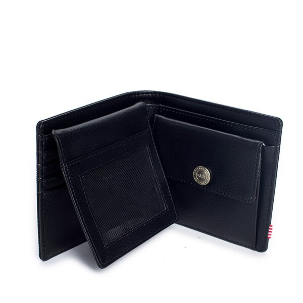 【EST】HERSCHEL HANK LARGE WALLET 短夾 皮夾 零錢包 黑 [HS-0199-001] G0122 3