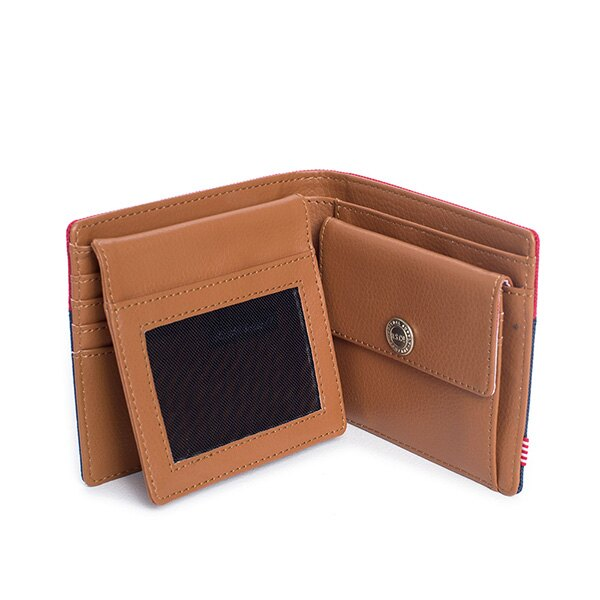 【EST】HERSCHEL HANK LARGE WALLET 短夾 皮夾 零錢包 藍紅 [HS-0199-018] G0122 3