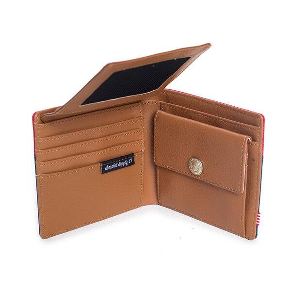 【EST】HERSCHEL HANK LARGE WALLET 短夾 皮夾 零錢包 藍紅 [HS-0199-018] G0122 4