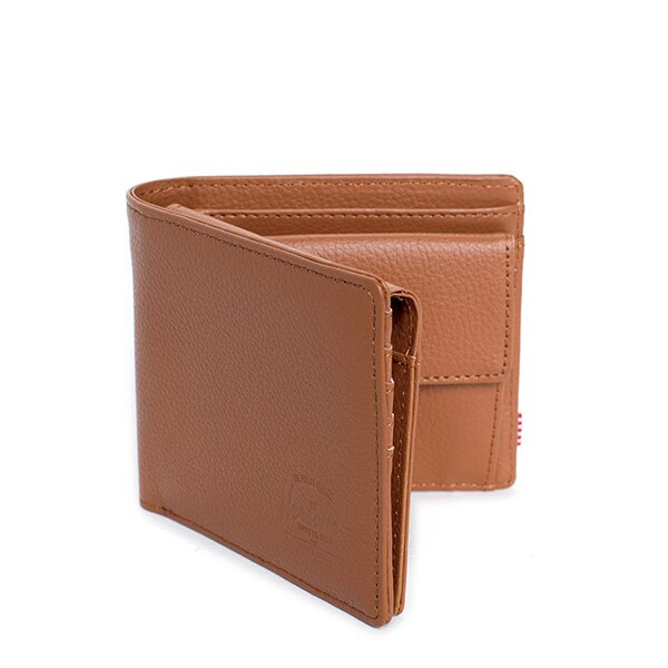 【EST】Herschel Hank Large Wallet 短夾 皮夾 零錢包 皮革 褐 [HS-0199-034] G0122 1
