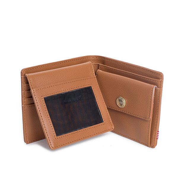 【EST】Herschel Hank Large Wallet 短夾 皮夾 零錢包 皮革 褐 [HS-0199-034] G0122 2