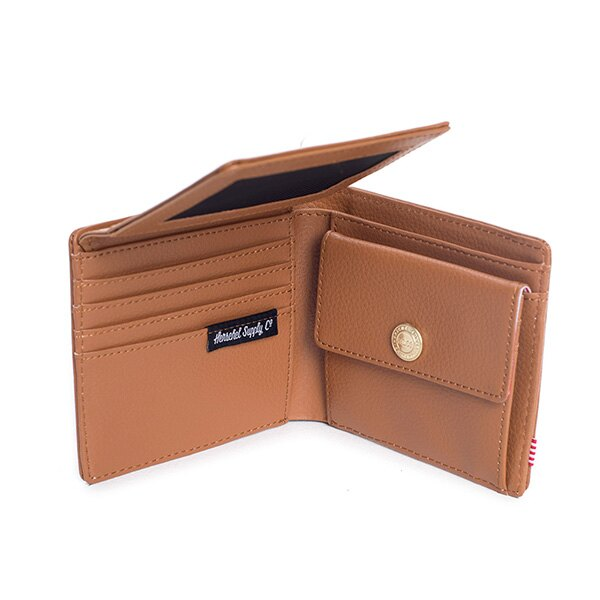 【EST】HERSCHEL HANK LARGE WALLET 短夾 皮夾 零錢包 皮革 褐 [HS-0199-034] G0122 3