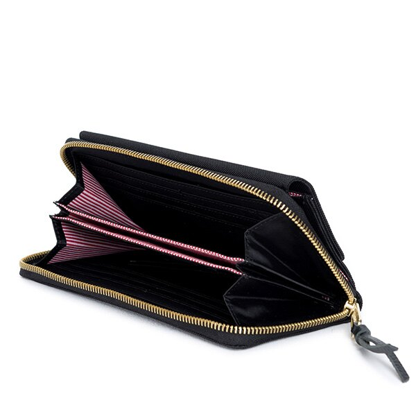 【EST】HERSCHEL AVENUE WALLET 拉鍊 皮夾 長夾 錢包 黑 [HS-0200-001] G0414 2