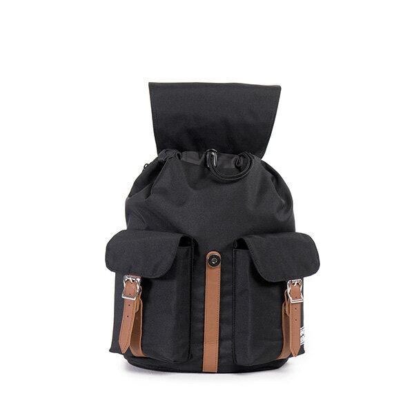 【EST】HERSCHEL DAWSON WMNS 女款 束口 雙口袋 後背包 黑 [HS-0210-797] G0414 1