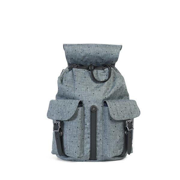 【EST】Herschel Dawson WMNS 女款 束口 雙口袋 後背包 十字布 灰 [HS-0210-B23] G0801 1