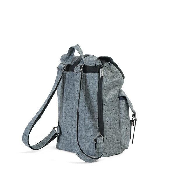 【EST】Herschel Dawson WMNS 女款 束口 雙口袋 後背包 十字布 灰 [HS-0210-B23] G0801 3