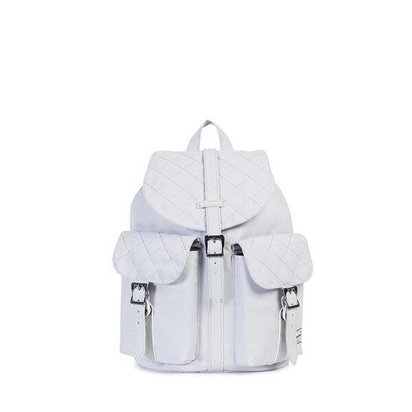 【EST】HERSCHEL DAWSON WMNS 女款 束口 雙口袋 後背包 白 [HS-0210-C38] G1012 0