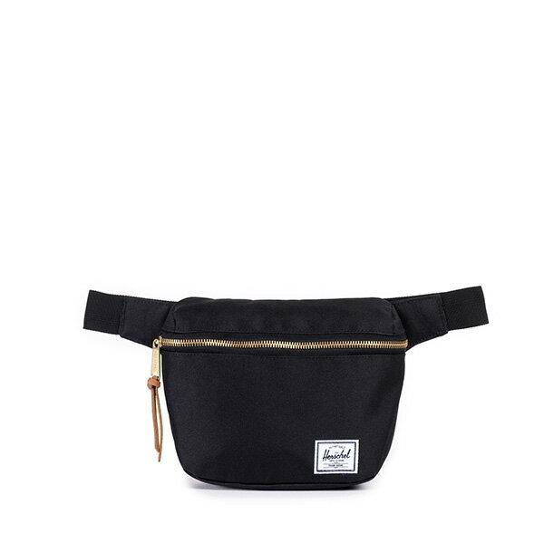 【EST】HERSCHEL FIFTEEN 斜背包 胸包 掛腰包 黑 [HS-0215-001] G0801