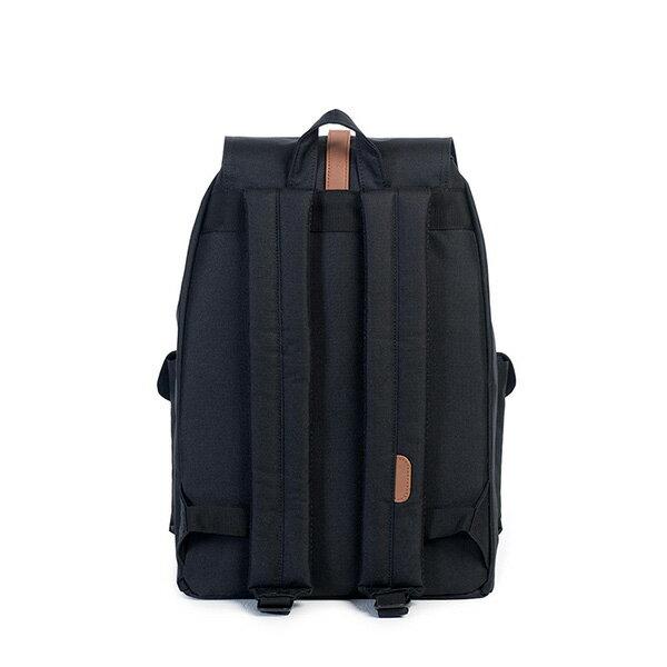 【EST】HERSCHEL DAWSON 束口 雙口袋 後背包 黑 [HS-0233-001] G0122 3