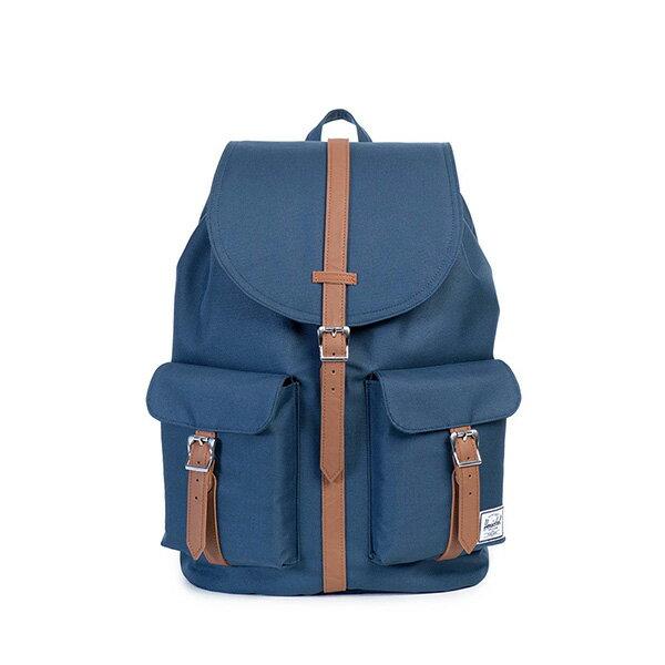 【EST】HERSCHEL DAWSON 束口 雙口袋 後背包 藍 [HS-0233-007] G0122 0
