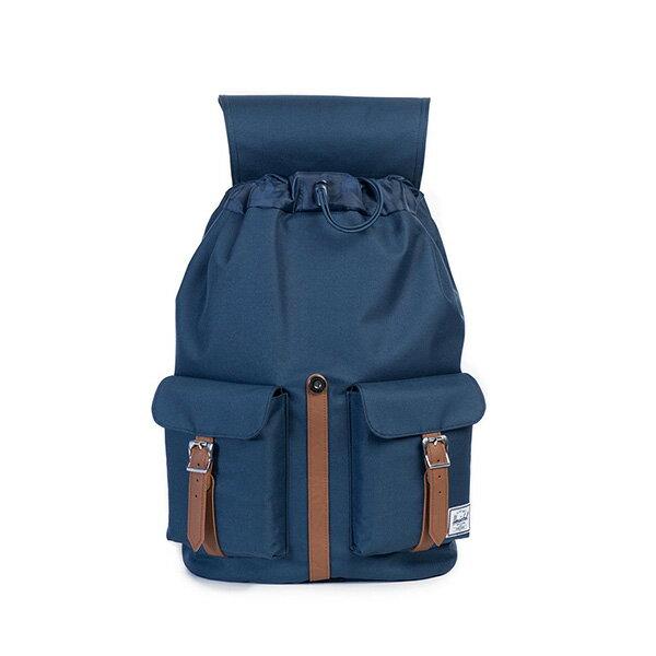 【EST】HERSCHEL DAWSON 束口 雙口袋 後背包 藍 [HS-0233-007] G0122 1