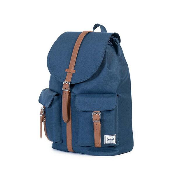 【EST】HERSCHEL DAWSON 束口 雙口袋 後背包 藍 [HS-0233-007] G0122 2