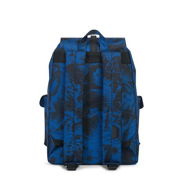 【EST】HERSCHEL DAWSON 束口 雙口袋 後背包 叢林 花卉 藍 [HS-0233-A56] G0706 3
