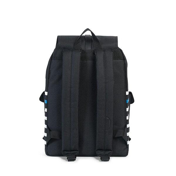 【EST】Herschel Dawson 束口 雙口袋 後背包 條紋 黑 [HS-0233-B73] G0801 3