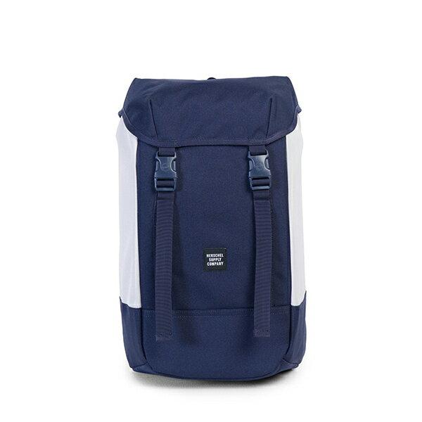 【EST】HERSCHEL IONA 15吋電腦包 後背包 藍/白 [HS-0234-C55] G1012 0