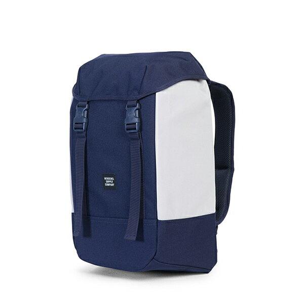 【EST】HERSCHEL IONA 15吋電腦包 後背包 藍/白 [HS-0234-C55] G1012 2