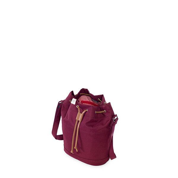 【EST】HERSCHEL CARLO WMNS 束口 水桶包 側背包 肩背包 酒紅 [HS-0239-746] G0706 2