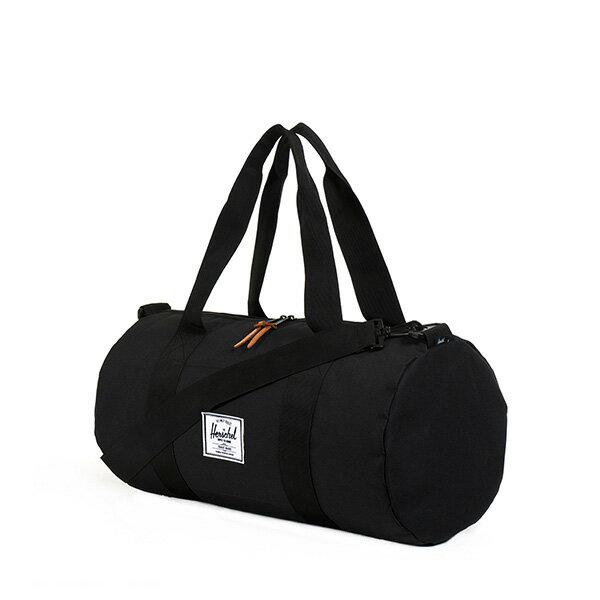 【EST】HERSCHEL SUTTON MID 中款 圓筒 肩背 手提袋 旅行包 黑 [HS-0251-001] G0122 1