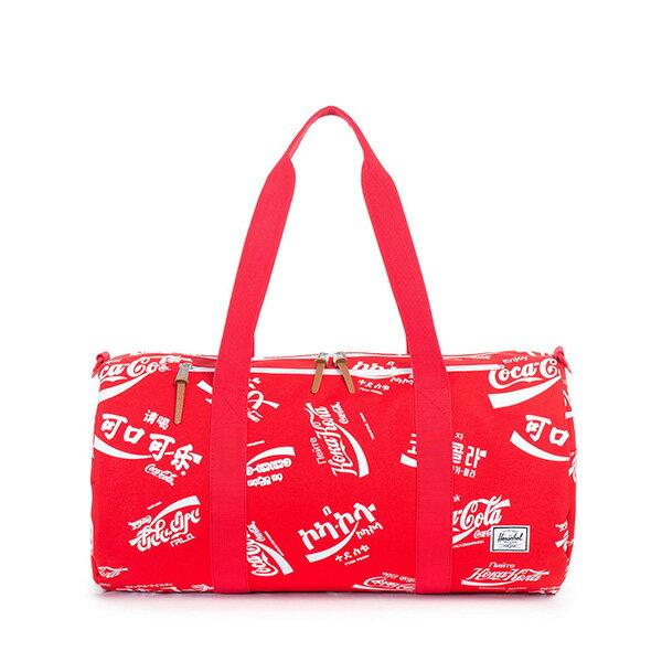 【EST】Herschel Sparwood 圓筒 肩背 手提袋 旅行包 可口可樂 紅 [HS-0254-991] G0122 0