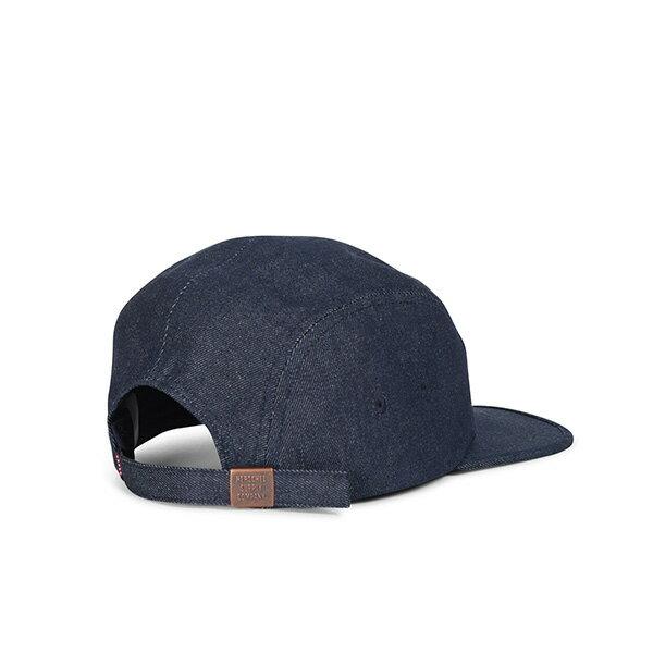 【EST】Herschel Glendale 經典款 硬版 後調式 五分割帽 棒球帽 丹寧 深藍 [HS-1007-172] G0422 1