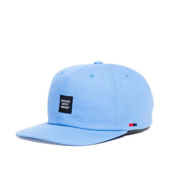 【EST】HERSCHEL ALBERT 後調式 棒球帽 淺藍 [HS-1020-159] G0706 0