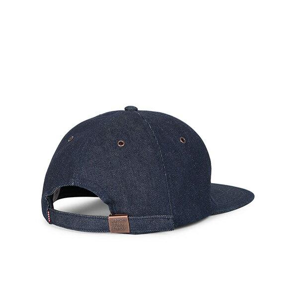 【EST】Herschel Albert 後調式 棒球帽 丹寧 深藍 [HS-1020-211] G0815 1