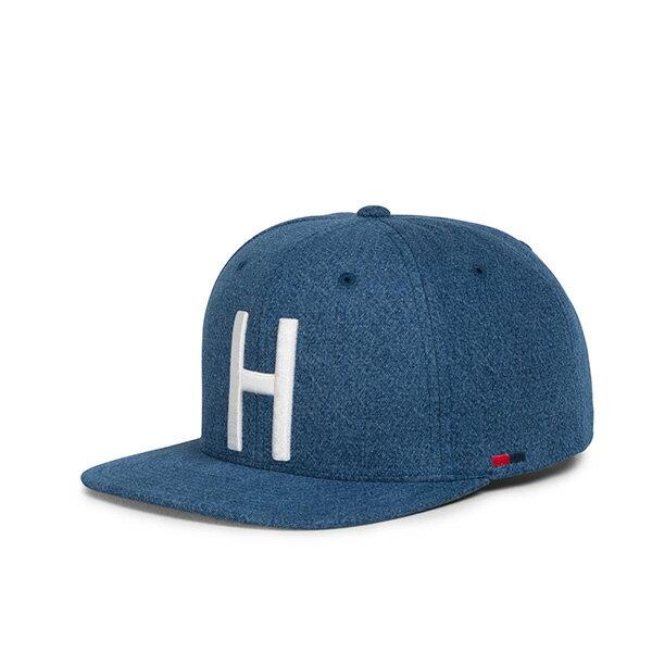 【EST】HERSCHEL TOBY 大H 後扣 棒球帽 丹寧 藍 [HS-1041-198] G0422 0