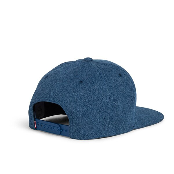 【EST】HERSCHEL TOBY 大H 後扣 棒球帽 丹寧 藍 [HS-1041-198] G0422 1