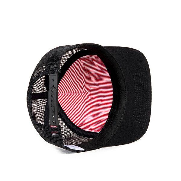 【EST】HERSCHEL WHALER MESH 後扣 網帽 棒球帽 黑 [HS-1047-001] G0128 2