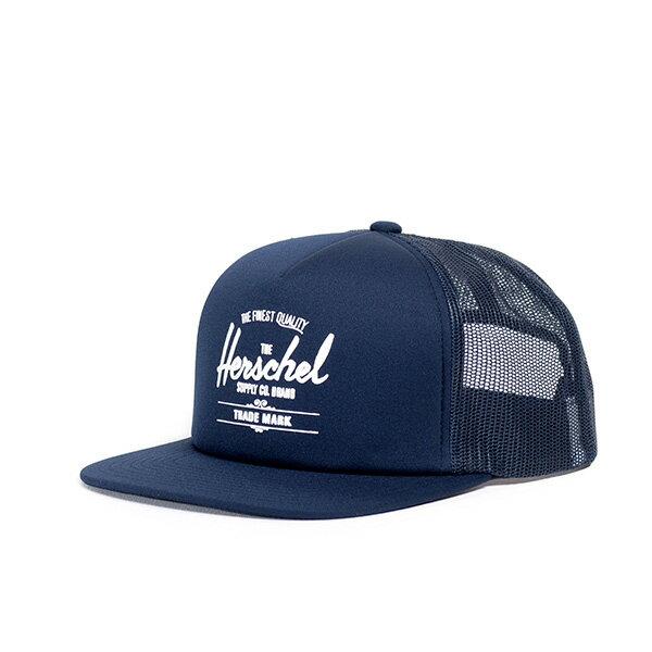 【EST】HERSCHEL WHALER MESH 後扣 網帽 棒球帽 深藍 [HS-1047-004] G0128 0