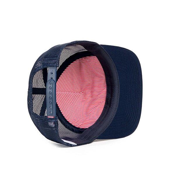 【EST】HERSCHEL WHALER MESH 後扣 網帽 棒球帽 深藍 [HS-1047-004] G0128 2