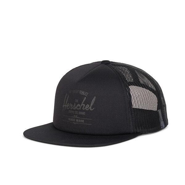 【EST】HERSCHEL WHALER MESH 後扣 網帽 棒球帽 黑 [HS-1047-205] G0422 0