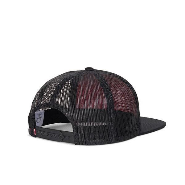 【EST】HERSCHEL WHALER MESH 後扣 網帽 棒球帽 黑 [HS-1047-205] G0422 1