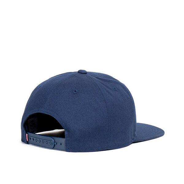 【EST】HERSCHEL WELLS BRITISH 後扣 棒球帽 深藍 [HS-1050-156] G0128 1