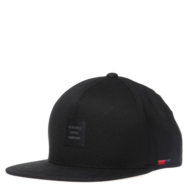 【EST】HERSCHEL WHALER ID 黑標 後調式 棒球帽 黑 [HS-1054-001] G0208 0