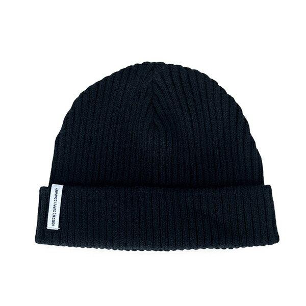 【EST】HERSCHEL MORRIS 毛帽  黑 [HS-1058-001] G1007 - 限時優惠好康折扣