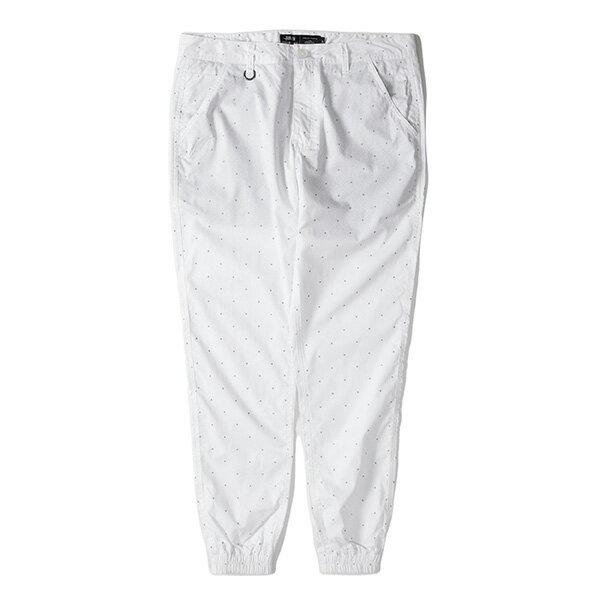 【EST】Publish D1 Faxon Jogger 3M反光 點點 格紋 長褲 束口褲 白 [PL-5352-001] F1102 0