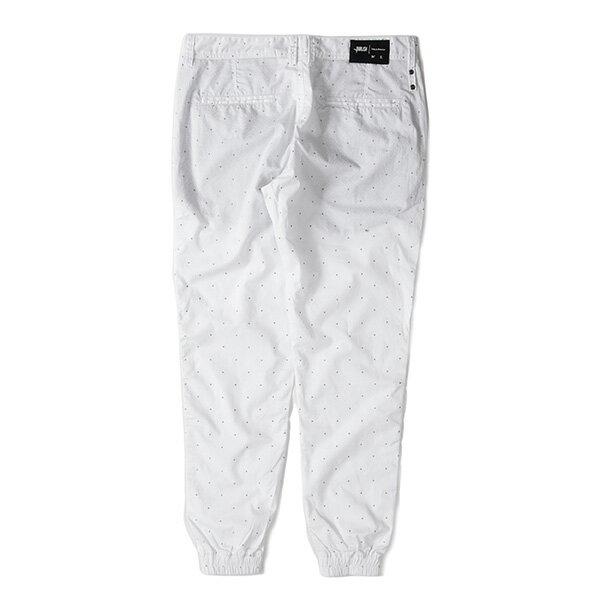 【EST】Publish D1 Faxon Jogger 3M反光 點點 格紋 長褲 束口褲 白 [PL-5352-001] F1102 1