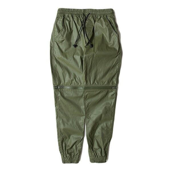 【EST】Publish D1 HESTer Jogger 拉鍊 兩件式 短褲 長褲 束口褲 墨綠 [PL-5354-035] F1102 0