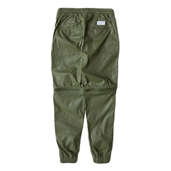 【EST】Publish D1 HESTer Jogger 拉鍊 兩件式 短褲 長褲 束口褲 墨綠 [PL-5354-035] F1102 1
