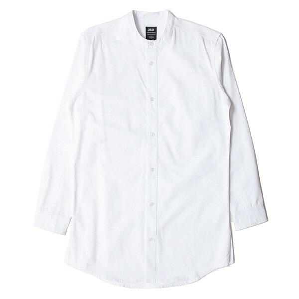 【EST】PUBLISH D1 SANDON 長版 圓領 長袖 襯衫 白 [PL-5357-001] F1102 0