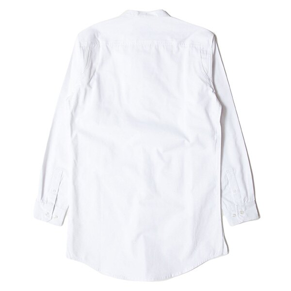 【EST】PUBLISH D1 SANDON 長版 圓領 長袖 襯衫 白 [PL-5357-001] F1102 1
