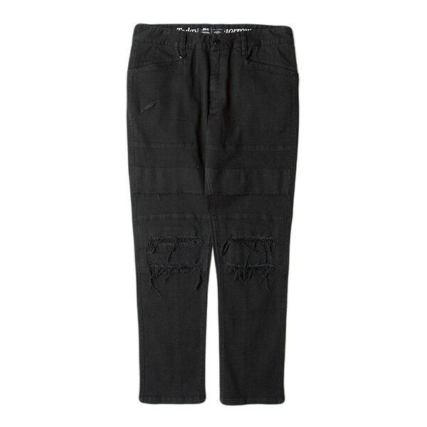 【EST】PUBLISH D1 COLTON 水洗 手工 破壞 工作褲 長褲 黑 [PL-5376-002] F1211 0