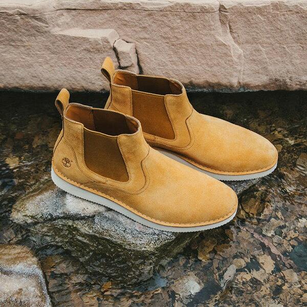 【EST】Timberland x Publish 聯名 CHELSEA 高筒 麂皮 切爾西靴 [PL-5380-537] 卡其 F12125 4