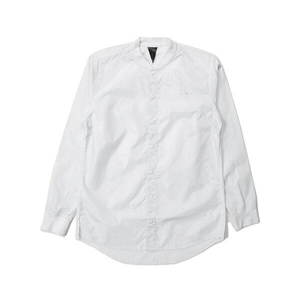 【EST】PUBLISH MONO 3 CORVUS 羅紋 潛水布 長袖 襯衫 白 [PL-5385-001] G0126 0