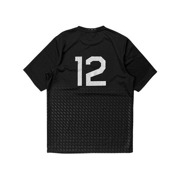 【EST】PUBLISH MONO 3 DARCY 足球衣 潛水布 幾何 短TEE 黑 [PL-5388-002] G0126 1