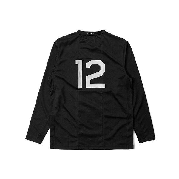 【EST】PUBLISH MONO 3 SHEIDA 足球衣 潛水布 網布 長TEE 黑 [PL-5389-002] G0126 1