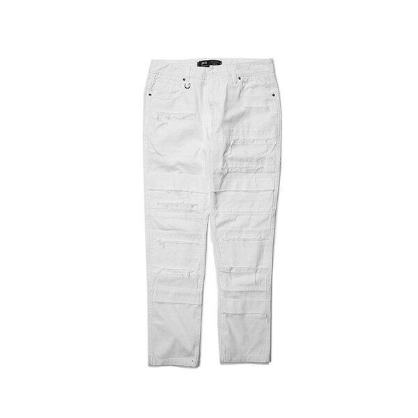 【EST】PUBLISH OGDEN 破壞 窄版 直筒褲 長褲 白 [PL-5408-001] G0503 0