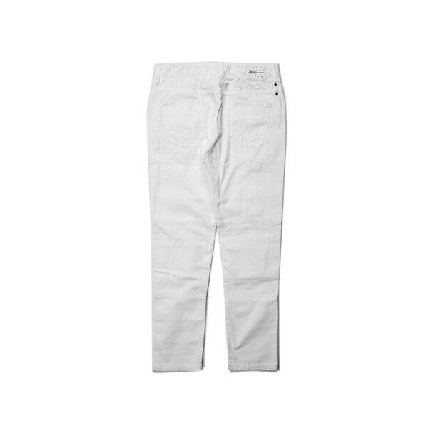 【EST】PUBLISH OGDEN 破壞 窄版 直筒褲 長褲 白 [PL-5408-001] G0503 1