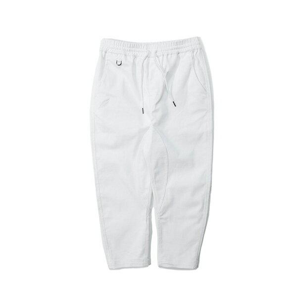 【EST】PUBLISH SLASH 綁帶 休閒 七分褲 白 [PL-5410-001] G0503 0